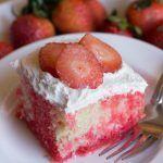 Strawberry Jello Cake